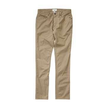 Billabong Big Boys' Stretch Chino Pants, Light Khaki