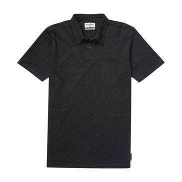 Billabong Big Boys' Standard Issue Polo, Black