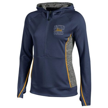 Champion Women's USN Unlimited Deep Zip Hoodie