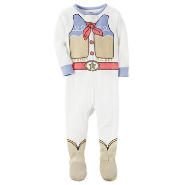 Carter's Baby Girls' 1-Piece Cotton Sleepwear, Cowgirl