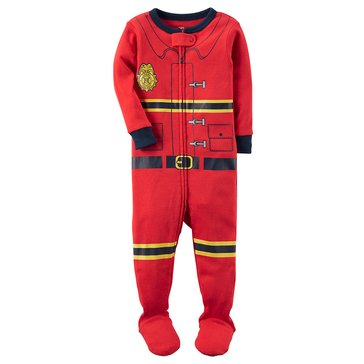 Carter's Baby Boys' Cotton Pajamas, Fireman