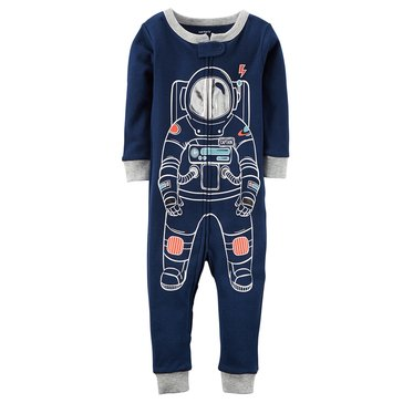 Carter's Baby Boys' Cotton Pajamas, Astronaut