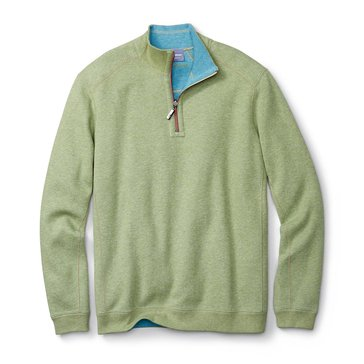 Tommy Bahama Reversible Flip-Side Half Zip Top