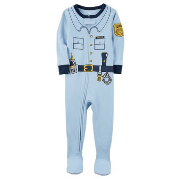Carter's Baby Boys' Cotton Pajamas, Policeman