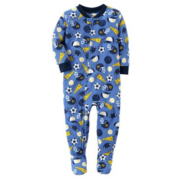 Carter's Baby Boys' Fleece Pajamas, Multi Sports