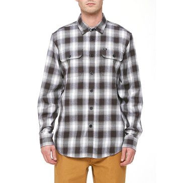 Obey Clothing Men's Kemper Long Sleeve Port Flannel Shirt