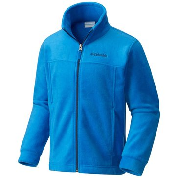 Columbia Little Boys' Steens II Full-Zip Fleece Jacket, Blue