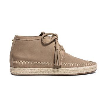 Michael Kors Kendrick Women's Lace Up Wedge Suede Dark Khaki