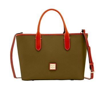 Dooney & Bourke Pebble Brielle Tote Olive