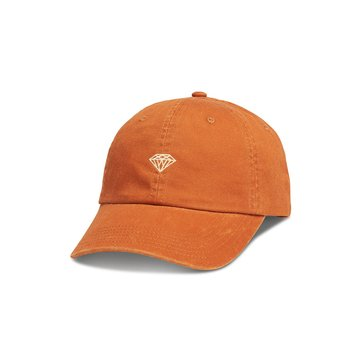 Diamond Supply Men's Brilliant Sports Burnt Orange Dad Hat