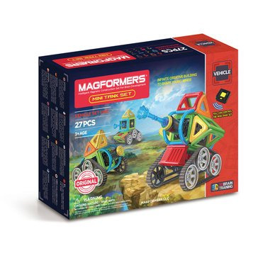 Magformers Mini Tank 27-Piece Set