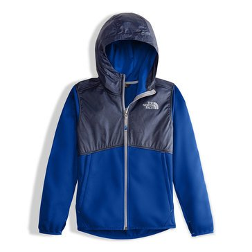 The North Face Big Boys' Kickin It Full-Zip Hoodie, Cobalt Blue