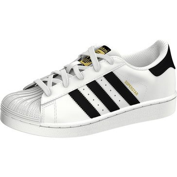 Adidas Boys Superstar Sneaker (Little Kid)