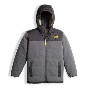 The North Face Big Boys' Revolver True/False Jacket, Medium Grey
