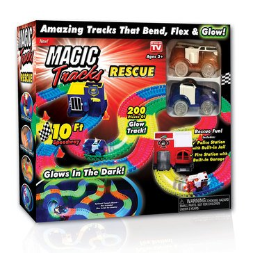 As Seen On TV  Magic Tracks Rescue Set