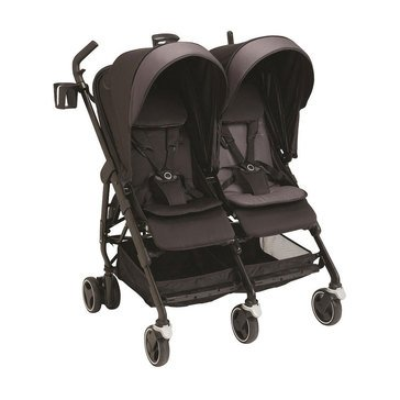 Maxi-Cosi Dana for 2 Double Stroller, Devoted Black