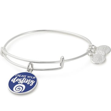 Alex and Ani Create Your Destiny Expandable Bangle, Silver Finish