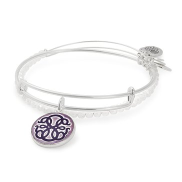 Alex And Ani Art Infusion, Path Of Life II Set, Silver Tone