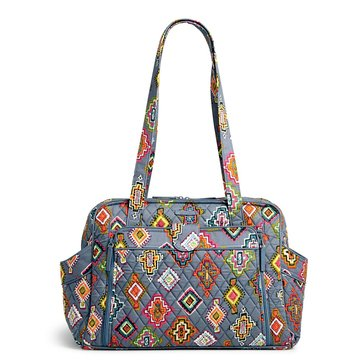 Vera Bradley Stroll Around Baby Bag, Painted Medallion