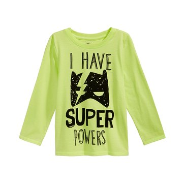 Epic Threads Boys' Super Powers Tee, Sharp Green