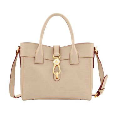 Web Exclusive! Dooney & Bourke Florentine Amelie Tote Natural