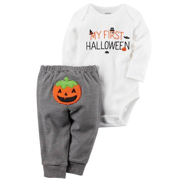 Carter's Newborn 2-Piece Bodysuit Set, My 1st Halloween
