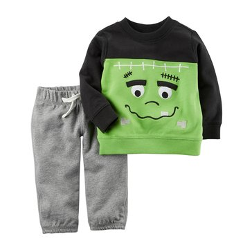 Carter's Baby Boys' Halloween Frankenstein Pants Set