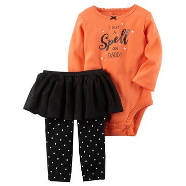 Carter's Baby Girls' 3-Piece Halloween TuTu Set