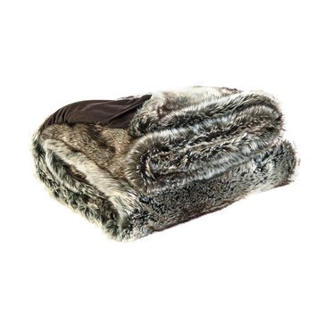 Signature Design by Ashley Vanlander Fur Throw