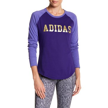Adidas Women's Long Sleeve Graphic Tee