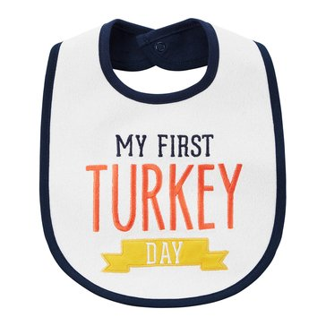 Carter's Newborn My First Turkey Day Thanksgiving Bib