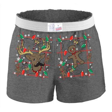 Soffe Women's Holiday Cheer Shorts