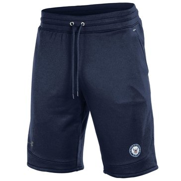 Under Armour Men's Navy Tech Terry Shorts