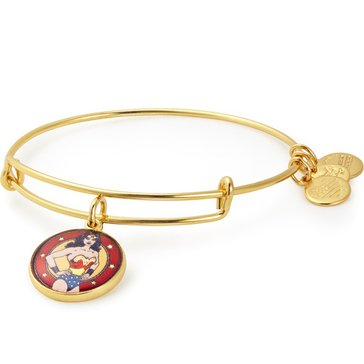 Alex And Ani Wonder Woman Bangle, Gold Tone