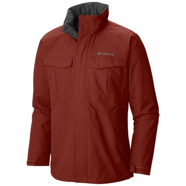 Columbia Men's DR Downpour Jacket - Rusty