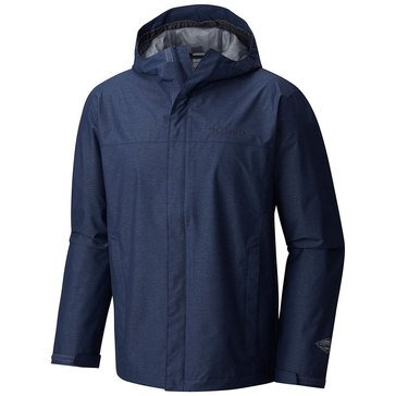 Columbia Men's Diablo Creek Rain Shell - Zinc