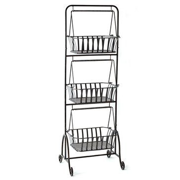 Gourmet Basics by Gourmet Basics by Mikasa Bristol 3-Tier Market Basket