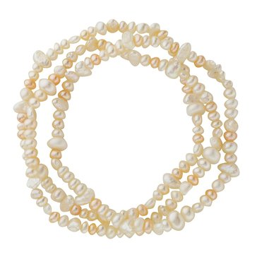 Fresh Water Cultured Pearl 3-Piece Stretch Bracelet Set