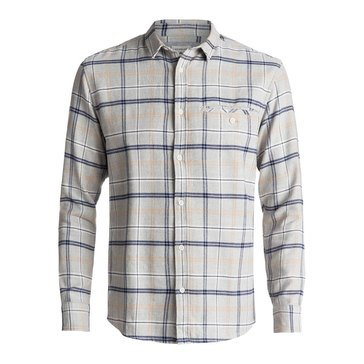 Quiksilver Men's Sunda Ray Long Sleeve Flannel Shirt