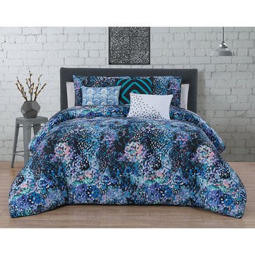 Steve Madden Aura Purple 6-Piece Comforter Set - King