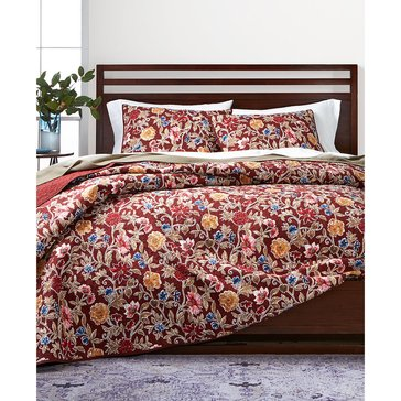 Martha Stewart Collection Climbing Blossoms Quilt - Full/Queen