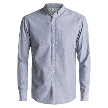 Quiksilver Men's Everyday Wilsden Long Sleeve Solid Shirt