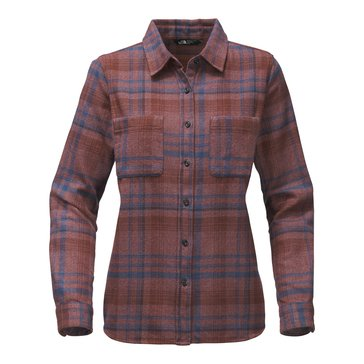 The North Face Women's Long Sleeve Willow Creek Flannel