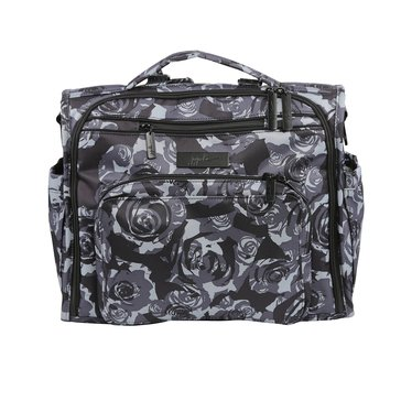 Ju-Ju-Be B.F.F Diaper Bag, Black Petals