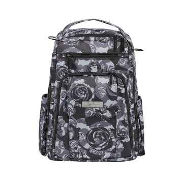 Ju-Ju-Be Be Right Back Diaper Bag, Black Petals