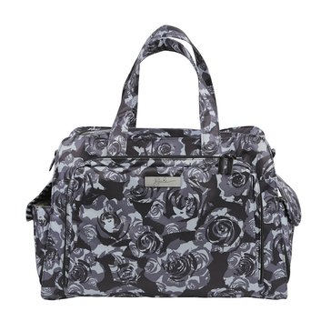 Ju-Ju-Be Be Prepared Diaper Bag, Black Petals
