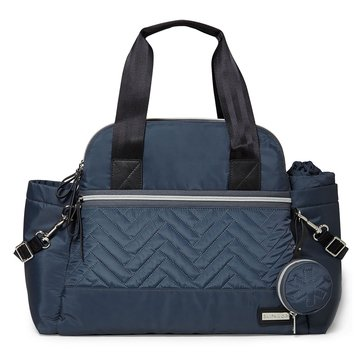 Skip Hop Suite 6-Piece Satchel Diaper Bag Set, Steel Grey