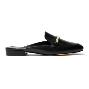 Michael Kors Nadia Slide Women's Slip On Shoe Vachetta Black