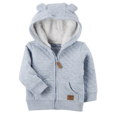 Carter's Baby Boys' Quilted Jacket, Blue