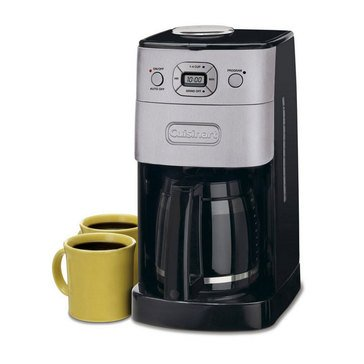 Cuisinart 12-Cup Grind & Brew Automatic Coffeemaker (DGB-625BC)
